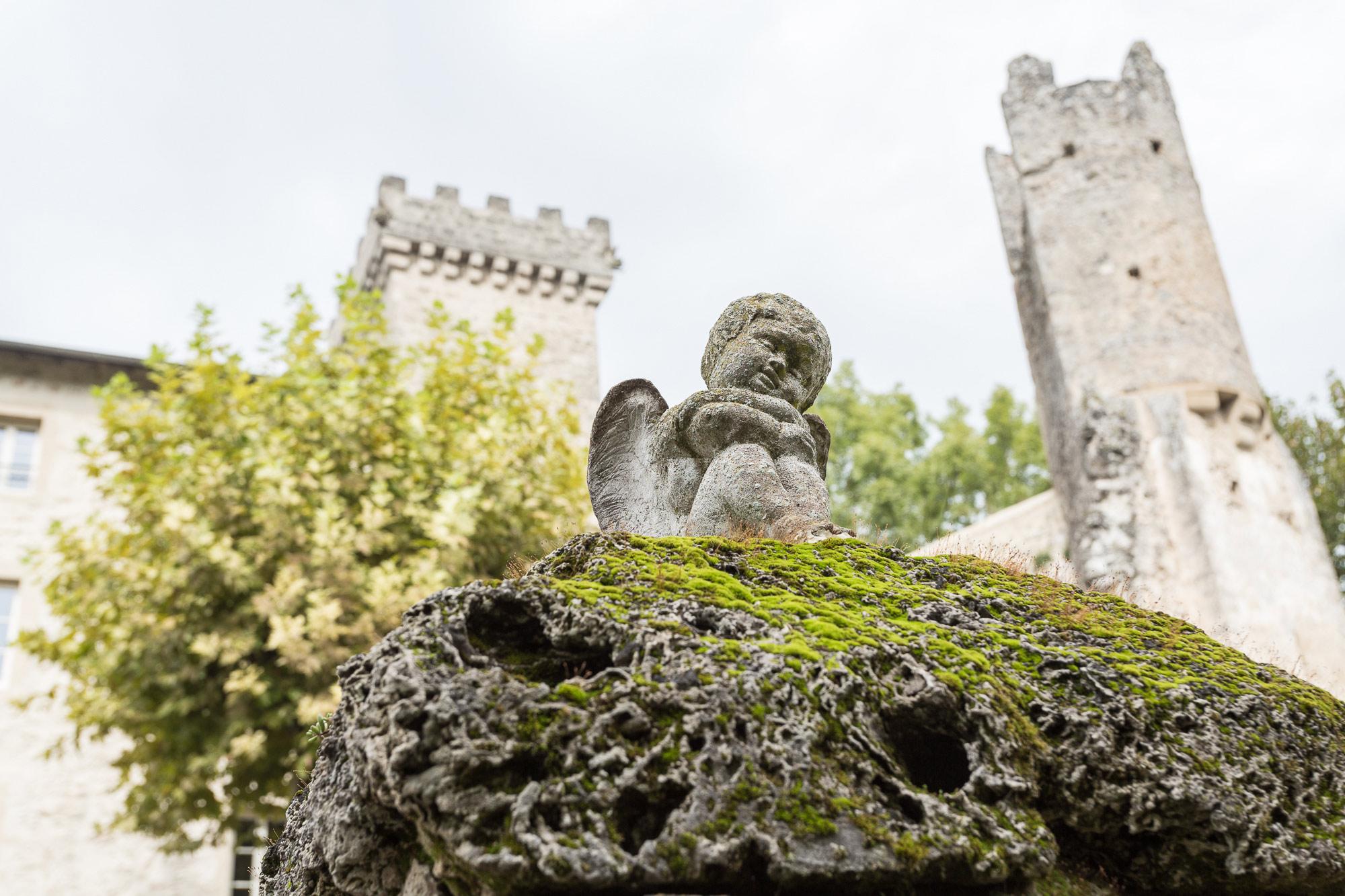 photographe mariage Grenoble Château des Anges