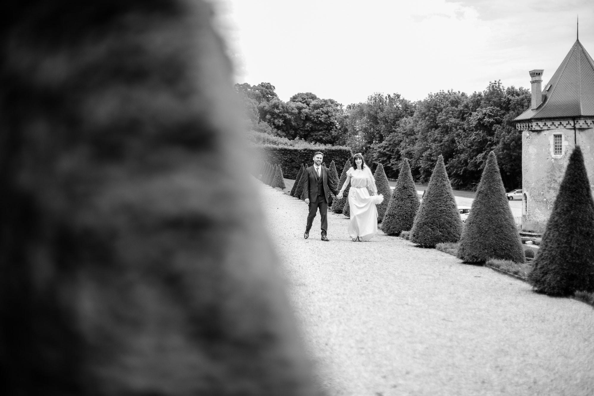photographe mariage Grenoble Château du Touvet