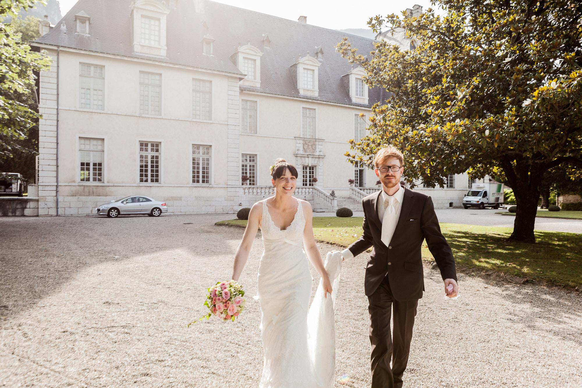 photographe mariage Château Sassenage